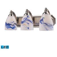 ELK Lighting Vanity 3 Light Bath Bar in Satin Nickel 570-3N-MT-LED