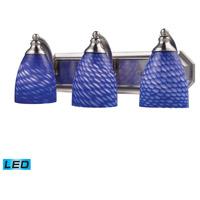 ELK Lighting Vanity 3 Light Bath Bar in Satin Nickel 570-3N-S-LED