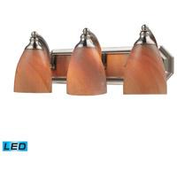 ELK Lighting Vanity 3 Light Bath Bar in Satin Nickel 570-3N-SY-LED