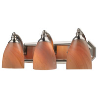 ELK Lighting Vanity 3 Light Bath Bar in Satin Nickel 570-3N-SY