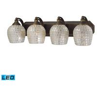ELK Lighting Vanity 4 Light Bath Bar in Aged Bronze 570-4B-SLV-LED photo thumbnail