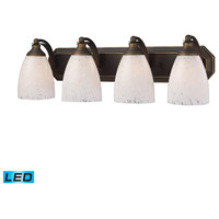 ELK Lighting Vanity 4 Light Bath Bar in Aged Bronze 570-4B-SW-LED
