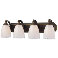 ELK Lighting Vanity 4 Light Bath Bar in Aged Bronze 570-4B-SW