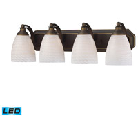 ELK Lighting Vanity 4 Light Bath Bar in Aged Bronze 570-4B-WS-LED