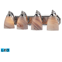 ELK Lighting Vanity 4 Light Bath Bar in Polished Chrome 570-4C-CR-LED