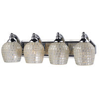 ELK Lighting Vanity 4 Light Bath Bar in Polished Chrome 570-4C-SLV