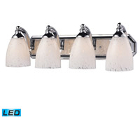 ELK Lighting Vanity 4 Light Bath Bar in Polished Chrome 570-4C-SW-LED