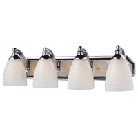 ELK Lighting Vanity 4 Light Bath Bar in Polished Chrome 570-4C-WS