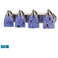ELK Lighting Vanity 4 Light Bath Bar in Satin Nickel 570-4N-BL-LED