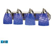 ELK Lighting Vanity 4 Light Bath Bar in Satin Nickel 570-4N-S-LED