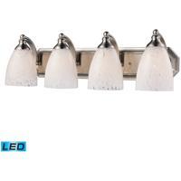 ELK Lighting Vanity 4 Light Bath Bar in Satin Nickel 570-4N-SW-LED