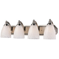 ELK Lighting Vanity 4 Light Bath Bar in Satin Nickel 570-4N-SW