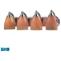 ELK Lighting Vanity 4 Light Bath Bar in Satin Nickel 570-4N-SY-LED