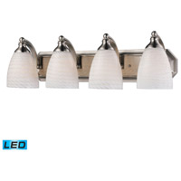 ELK Lighting Vanity 4 Light Bath Bar in Satin Nickel 570-4N-WS-LED