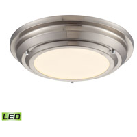 ELK Lighting Sonoma LED Flush Mount in Brushed Nickel 57000/LED