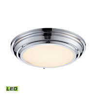 ELK Lighting Sonoma LED Flush Mount in Polished Chrome 57011/LED
