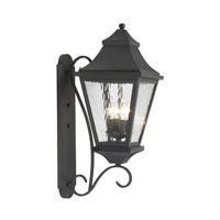 East Bay Street 4 Light 26 inch Charcoal Outdoor Sconce