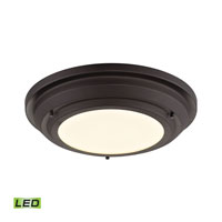 Sonoma LED 14 inch Oil Rubbed Bronze Flush Mount Ceiling Light