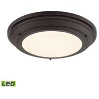 ELK 57021/LED Sonoma LED 17 inch Oil Rubbed Bronze Flush Mount Ceiling Light