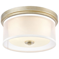 ELK 57035/2 Diffusion 2 Light 13 inch Aged Silver Flush Mount Ceiling Light