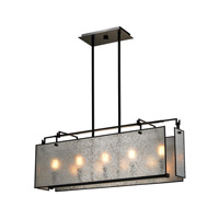 ELK Lighting Lindhurst 5 Light Island in Oil Rubbed Bronze 57093/5