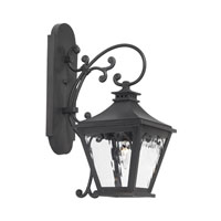 ELK Lighting Camden 1 Light Outdoor Sconce in Charcoal 5710-C