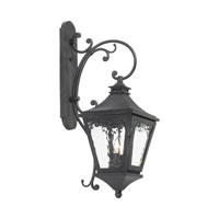 Camden 2 Light 30 inch Charcoal Outdoor Sconce