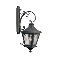 Camden 3 Light 36 inch Charcoal Outdoor Sconce