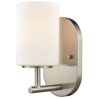 Pemlico 1 Light 6 inch Satin Nickel Vanity Light Wall Light