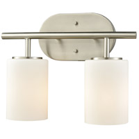 ELK 57131/2 Pemlico 2 Light 13 inch Satin Nickel Vanity Light Wall Light