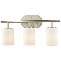 ELK 57132/3 Pemlico 3 Light 20 inch Satin Nickel Vanity Light Wall Light