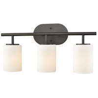 Pemlico 3 Light 20 inch Oil Rubbed Bronze Vanity Light Wall Light