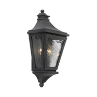 Camden 2 Light 20 inch Charcoal Outdoor Sconce