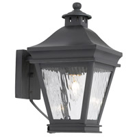 Landings 1 Light 13 inch Charcoal Outdoor Sconce