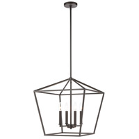 Fairfax 4 Light 18 inch Oil Rubbed Bronze Pendant Ceiling Light