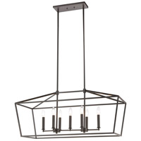 ELK 57217/7 Fairfax 7 Light 36 inch Oil Rubbed Bronze Island Light Ceiling Light