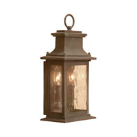 Provincial 2 Light 14 inch Aged Copper Outdoor Sconce