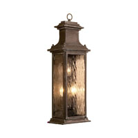 ELK Lighting Provincial 3 Light Outdoor Sconce in Aged Copper 5727-AC