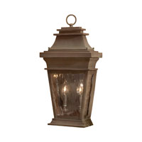 ELK Lighting Provincial 2 Light Outdoor Sconce in Aged Copper 5728-AC