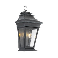 ELK Lighting Provincial 2 Light Outdoor Sconce in Charcoal 5728-C