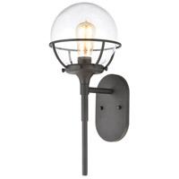 ELK 57289/1 Girard 1 Light 19 inch Charcoal Outdoor Sconce
