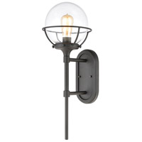 ELK 57290/1 Girard 1 Light 24 inch Charcoal Outdoor Sconce