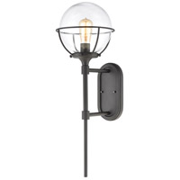 ELK 57291/1 Girard 1 Light 28 inch Charcoal Outdoor Sconce