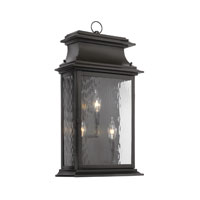 ELK Lighting Provincial 3 Light Outdoor Sconce in Charcoal 5730-C