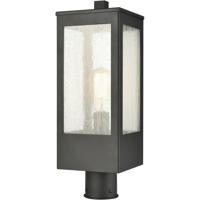 ELK 57304/1 Angus 20 inch Charcoal Outdoor Post Mount
