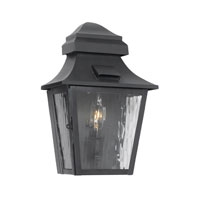 ELK Lighting Monterey 1 Light Outdoor Sconce in Charcoal 5740-C
