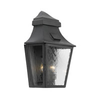 ELK Lighting Monterey 2 Light Outdoor Sconce in Charcoal 5741-C
