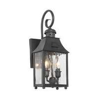 ELK Lighting Monterey 2 Light Outdoor Sconce in Charcoal 5750-C