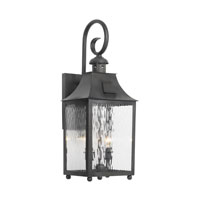 Monterey 2 Light 23 inch Charcoal Outdoor Sconce