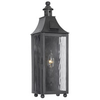 Monterey 1 Light 18 inch Charcoal Outdoor Sconce